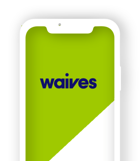 Half mobile with Waives app